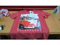 vw christmas t shirt