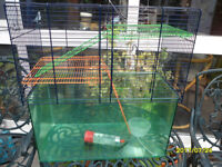 3 x gerbil/hamster cages