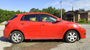 2009 Toyota Matrix XR CERTIFIED+CARPROOF-ONLY 121K KM