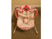 Fisher Price Pink Baby Bouncer