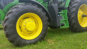 Tractor tires and rims for sale