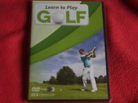 Golf Training dvd's Aid Tutorial Guide, Free Power Swing Training Band, Gifts, New