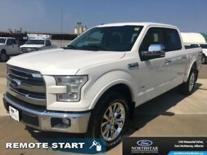 2015 Ford F-150 Lariat  - Leather Seats - Sunroof - $301.68 B/W