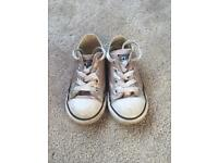 Girls Converse Trainers Size 8
