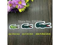 X10 iron lacoste badges free post 10 pounds