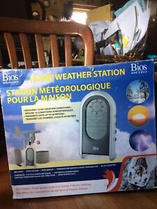New weather station