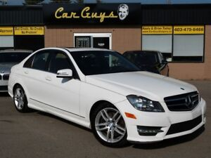 2013 Mercedes-Benz C-Class C 300 4MATIC - Heated Leather, Roof,