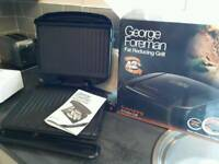 George Forman Fat Reducing Grill - as new