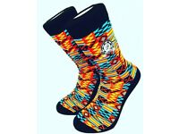 DeesSocks (Red Kente)