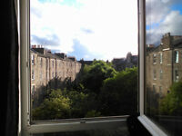 Doublebed singleroom to rent for August or longterm in Newington, Edinburgh
