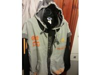 adidas hooded jacket very good conditon 16 pound or near offer