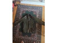Xl vintage Barbour jacket