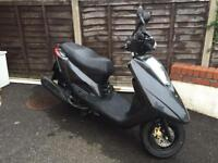 Yamaha Vity, 124CC, Low mileage, Black