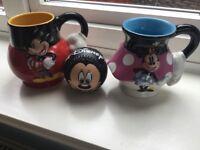 Children's Mugs + Mickey Mouse Baseball