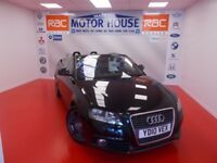 Audi A3 (TDI S LINE) (£30.00 ROAD TAX) FREE MOT'S AS LONG AS YOU OWN THE CAR!!! (black) 2010
