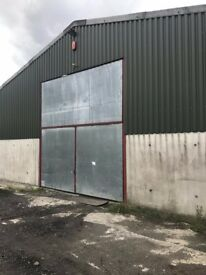WAREHOUSE MEZZANINE available to rent for storage space | Swansea (SA8)