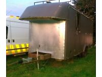 Ex Army Project Tiny Home Trailer Unit