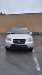 2008.hyundai santafe 2.7L leather sunroof