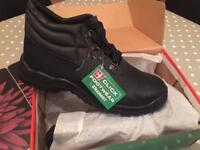 Chukka Safety Boots. Size U.K. 10.