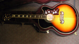 Epiphone Jumbo Acoustic Electric Guitar