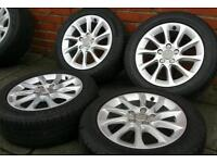"""16"""" Alloys Wheels Audi A3 A4 VW caddy van Sharan Golf Seat leon Alhambra"""