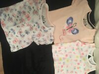 Brand new unused baby girl clothes