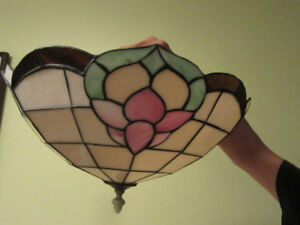 Tiffany Stained Glass Ceiling Light Fixture
