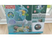 Fisher price precious planet mobile cot