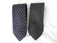 2 x Silk ties from Harrods of London