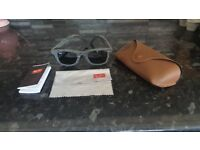 RayBan Denim Wayfarers in original case complete with lens cloth and booklet