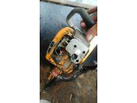 Job lot of petrol tools