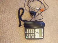 Binatone Acura 3000 Corded Phone with Call Blocker - Black