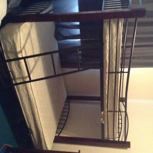 Bunk bed with Ladder - Single over Double