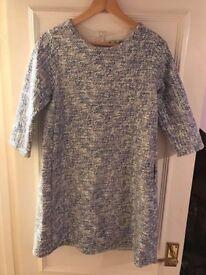 Zara blue dress size L