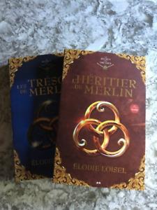 L' héritier de Merlin tome 1 et 2 neufs