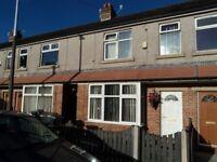 **** EXTENDED MODERN 3 BED HOUSE FOR RENT IN BLACKBURN ON CHESTER CL, £500 PCM & £400 DEPOSIT.