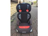 1 month old extra comfy padded car seat for 1 to 12 years,bargain at £35