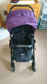 Joie Chrome stroller and car seat from birth - fantastic condition