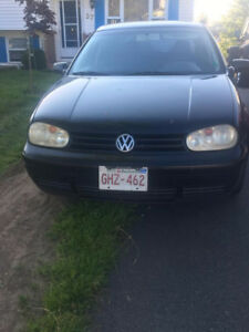 2003 Volkswagen Golf Hatchback 5 SPEED