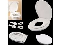 Safekom Modern Stylish Design Luxury Child Friendly Family Bathroom Toilet Seat Potty Training