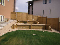 Fence and Deck Installation - Airdrie, N. Calgary, Cochrane