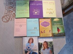EMILY GIFFIN NOVELS PLUS OTHERS $10 Each