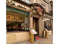 Hard Rock Cafe Edinburgh - Host Needed