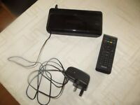 Philips Pace DTR230/05 digital terresterial freeview televison receiver box with remote