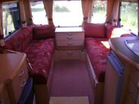 FOR SALE 2003 2 BERTH ABBEY AVENTURA 315 WITH FULL AWNING