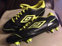 Umbro football boots 7.5 - only worn a handful of times