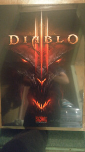 Diablo 3 and Star Wars Canvas Posters.