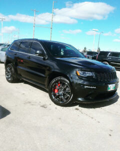 2015 Grand Cherokee SRT 6.4L Saftied with financing options