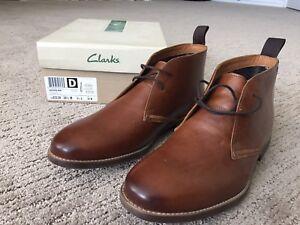 Clarks Novato Mid Boots Size 10.5 - Brand New - Men's Shoes