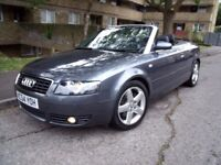 AUDI A4 1.8T SPORT CONVERTIBLE 54 REG 149K PART SERVICE HISTORY LOOKS AND DRIVES SUPERB P/X WELCOME